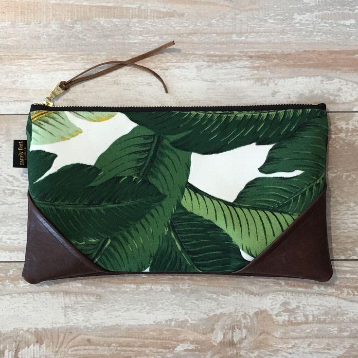 Tropical Banana Leaf Clutch – Handmade with Aloha in Hawaii <3