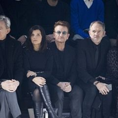 Bono and wife Ali Hewson sit front row at Dior Homme during PFW (323390)