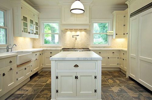 u-shaped kitchen with island | Kitchen Designs with Islands — What Shape Fit on Your Kitchen ...