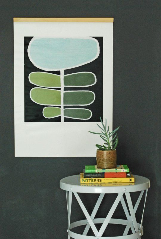 10 DIY Ways to Hang Really Large Art