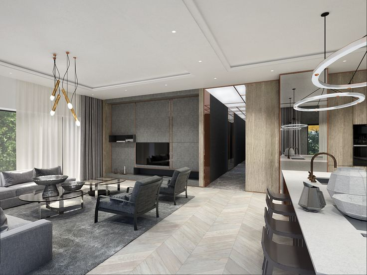 WARSAW GREY MODERN 1, project by EXITDESIGN