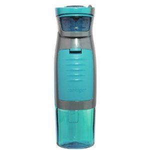 Perfect water bottle. It has a little compartment that will hold your driver's license, money, keys, etc. $12.99: Gym Cards, Water Bottle