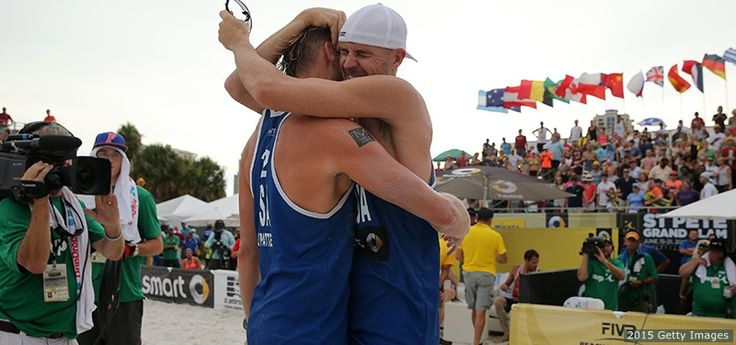 Jake Gibb, Casey Patterson Win Beach Volleyball Grand Slam