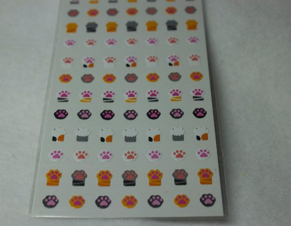 Kawaii Stickers Animal stickers Planner by FadedTwistedWings