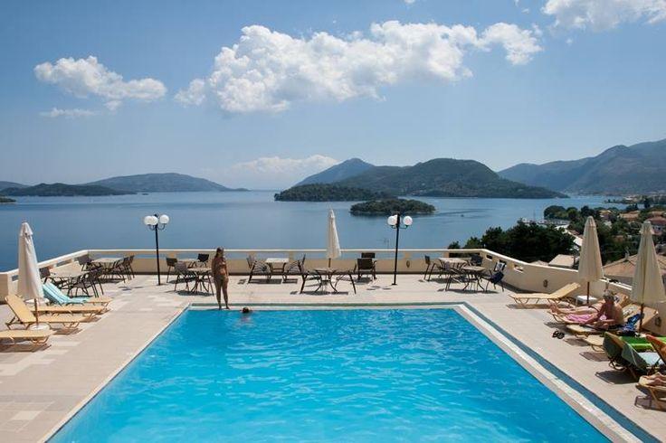 Relaxing at Scorpios Hotel