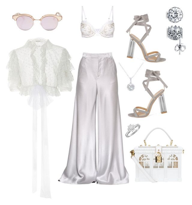 """Walk the Walk"" by raiynel on Polyvore featuring Kalmanovich, Etro, Amina, Dolce&Gabbana, Le Specs, BERRICLE, EWA and Tiffany & Co."