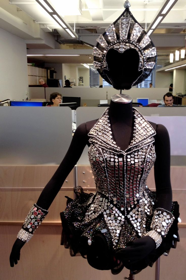 """Who's That Woman? (Mirror, Mirror)"" Costume Designed by Tony Award winner Gregg Barnes for ""Follies"" on Broadway at the Marquis Theatre. Currently on display at the Theatre Development Fund Main Offices  — at Theatre Development Fund."