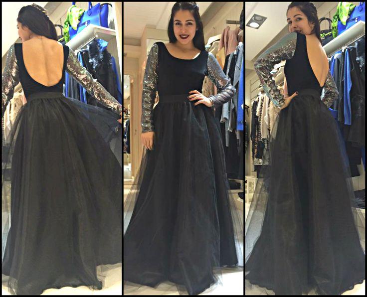 Princess Skirt & Backless bodysuit