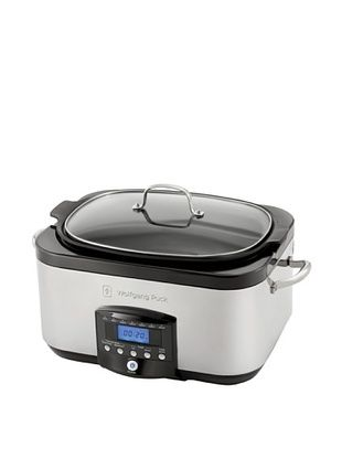 65% OFF Wolfgang Puck 6-Qt. Electronic Multi-Cooker with Dual Heating Elements, Black