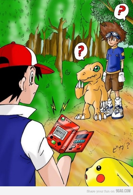 So this is pretty much my entire childhood in one picture.