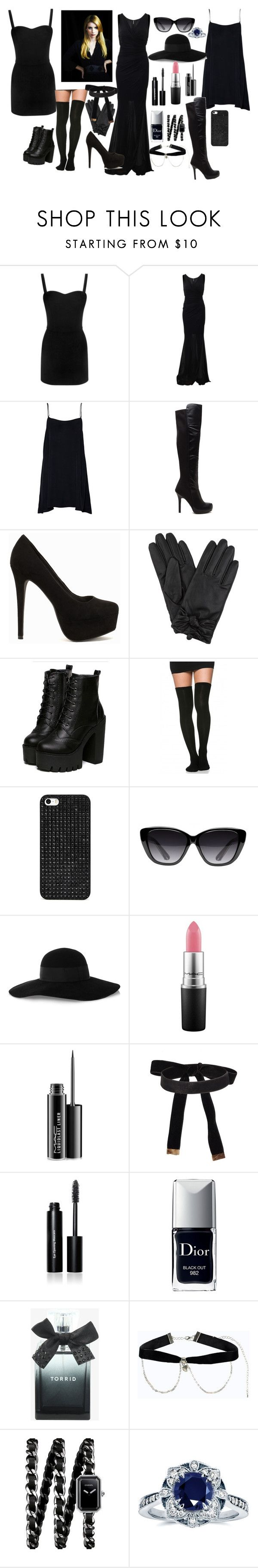 """Madison Montgomery Style."" by aniludragneel ❤ liked on Polyvore featuring Alexander McQueen, Blumarine, Nly Shoes, BaubleBar, Elizabeth and James, Eugenia Kim, MAC Cosmetics, Bobbi Brown Cosmetics, Christian Dior and Torrid"