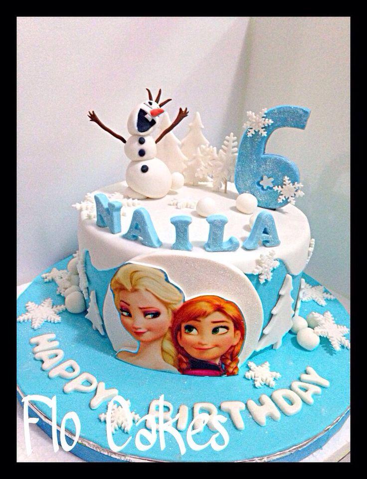 Frozen 3 bday cake