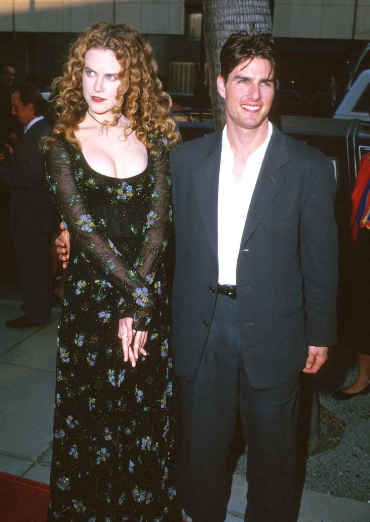 Tom Cruise and Nicole Kidman in the 90's Cannes Film Festival