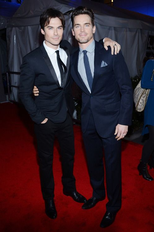 Ian Somerhalder and Mat Bomer <3 ahhh! Can't get a better combo than this!