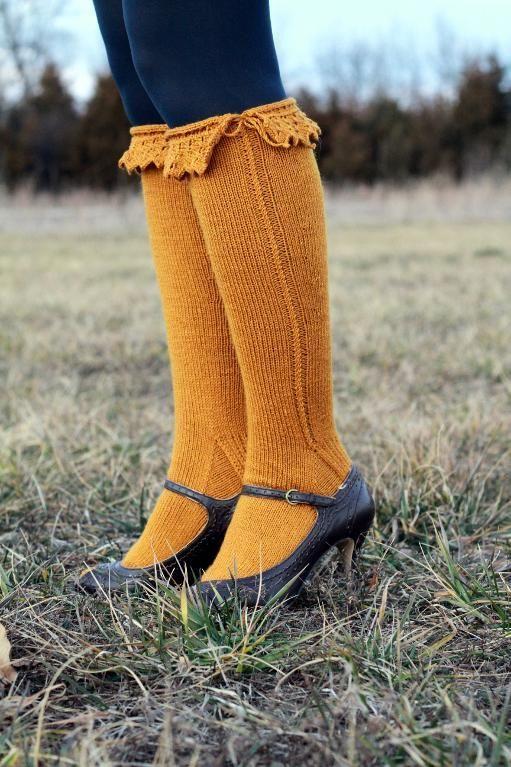 Bonneterie Knee High Sock