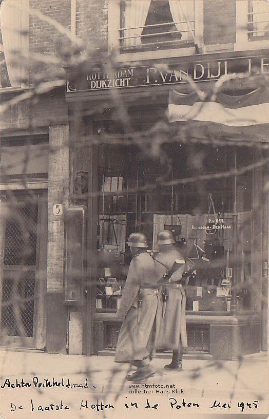 De laatste Moffen in de Poten, mei 1945 foto uit de collectie van Hans Klok