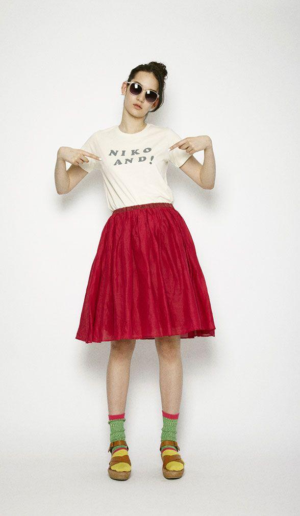 skirt tee socks and sandals combo ❀ pinterest.com/abkatherine