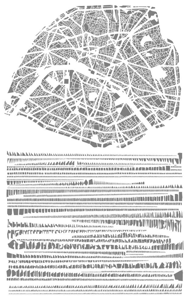 """The Famous Grids of Iconic Cities, Deconstructed and Remixed 