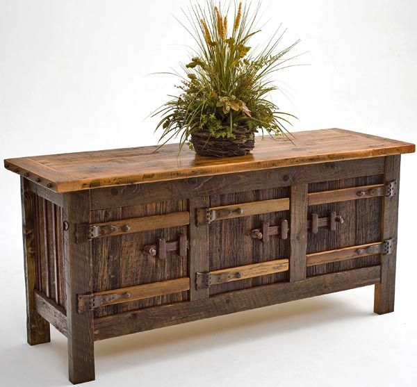 Iu0027m Thinking Something Like This For A Buffet In The Dining Room. Pine Wood  FurnitureLaminate FurnitureGreen FurnitureReclaimed ...