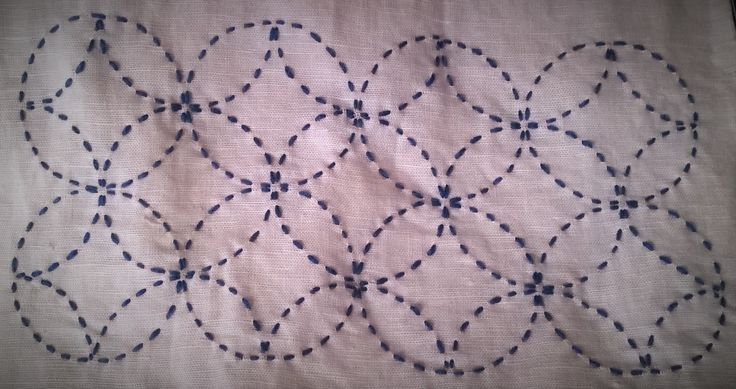 Sashiko embroidery Bordado sashiko