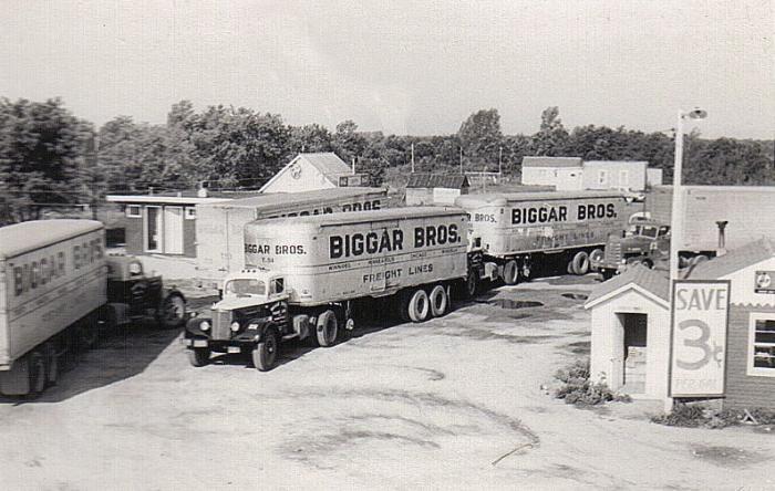 183 best old truck stops images on Pinterest  Semi trucks Vintage trucks and Big trucks