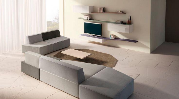 Модульные диваны: 15 оригинальных моделей для Вашей гостиной