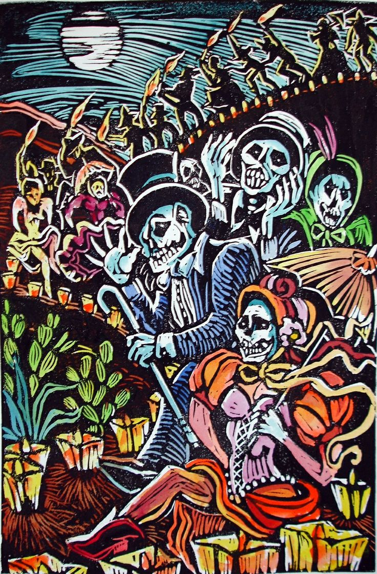 day of the dead thesis Día de los muertos, also known as the day of the dead, is a holiday when people remember those who have died largely celebrated in mexico, it dates back to pre-hispanic civilizations from 2,500.