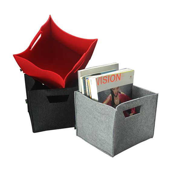 Felt Storage Box Lego Storage Basket Kitchen Storage Bin Felt Storage Box Household Container Custom Made E931