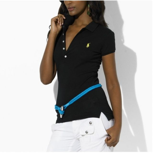 Ralph Lauren Womens Small Pony Short Polo T Shirts Outlet Online