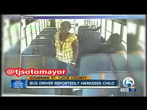 37 YO Bus Driver Arrested For Stalking & Assaulting A 5 YO Special Needs Student!