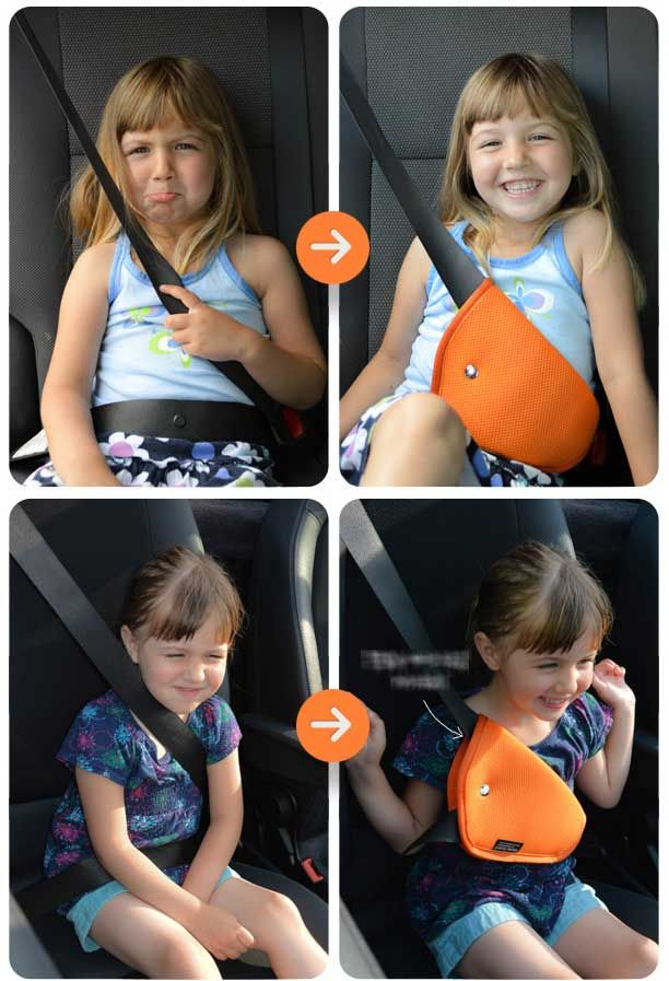 Details About Car Seat Belt Covers For Kids Toddler Child Safety