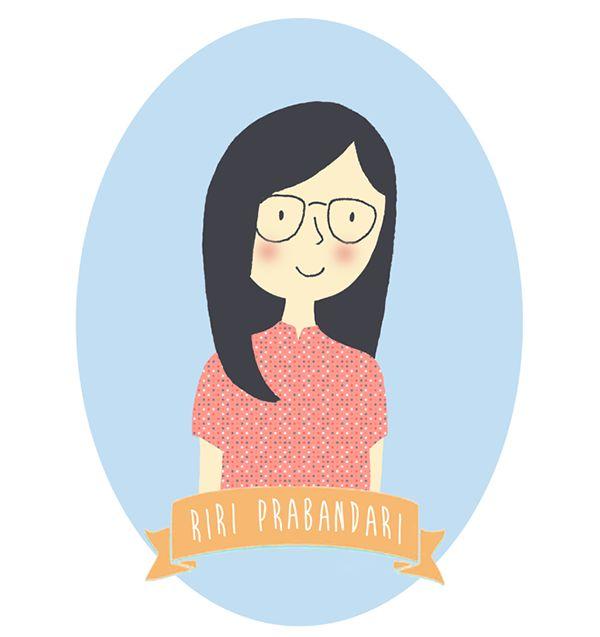 header for my blog by Riri Prabandari, via Behance