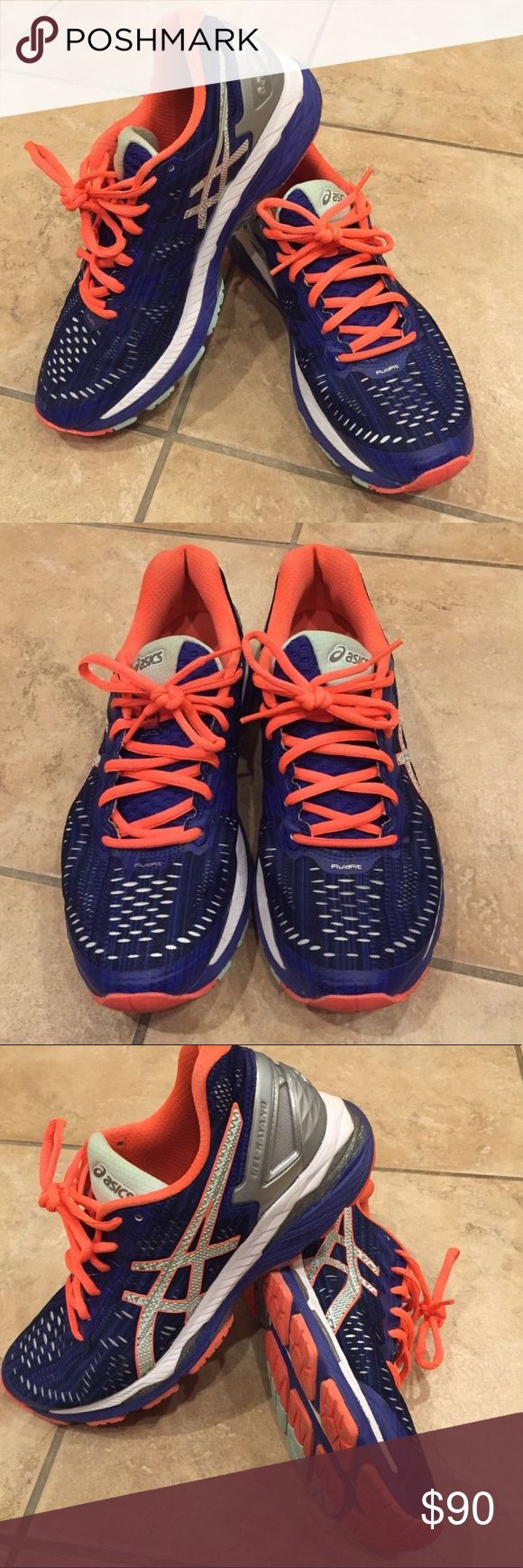 ASICS Gel Kayano 23 Woman's Sz 8.5 Up for sale is a pair of ASICS Gel Kayano 23 size 8.5. They are in fabulous condition and were only worn indoors for a dance class. Asics Shoes Sneakers