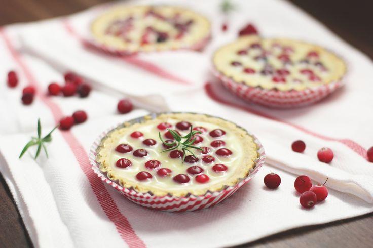 Тарталетки с белым шоколадом и клюквой - Полавкам. White Chocolate and Cranberry Tarts
