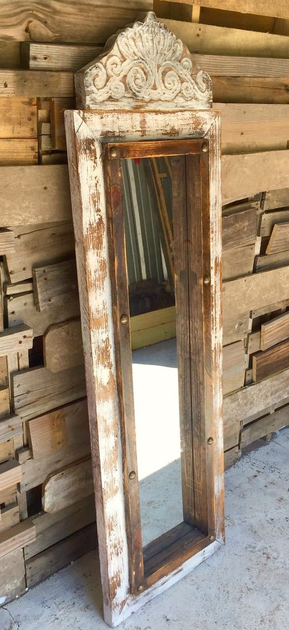 Agave Medium Floor Mirror - Sofia's Rustic Furniture                                                                                                                                                                                 More