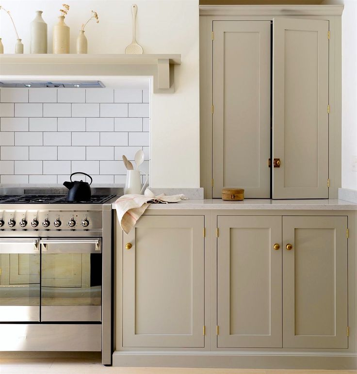 Bm Kingsport Gray Painted Kitchen Cabinet Ideas