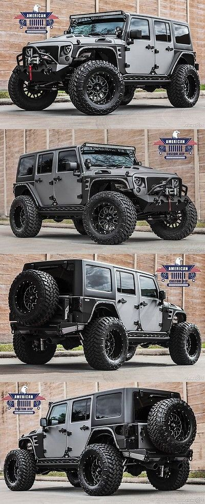SUVs: 2017 Jeep Wrangler Unlimited Sport Utility 4-Door 2017 Sport Used 3.6L V6 24V Automatic 4Wd Suv Custom Pro Comp 4 Lift -> BUY IT NOW ONLY: $76900 on eBay!