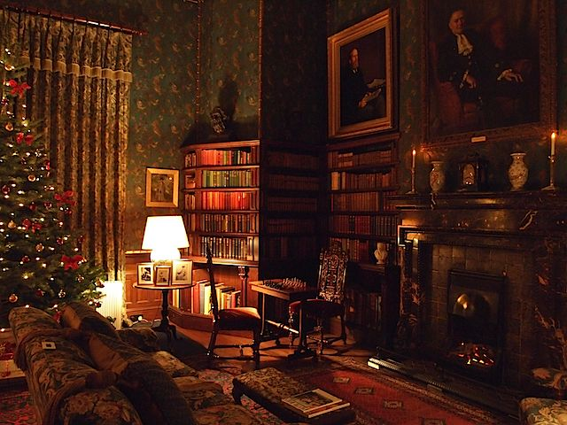 Dunster castle somerset england style english for English style library