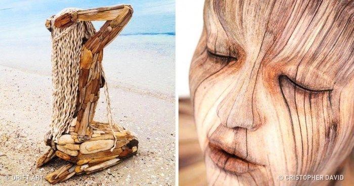 Ezek a fából készült szobrok annyira valósághűek, hogy te is libabőrös leszel tőlük