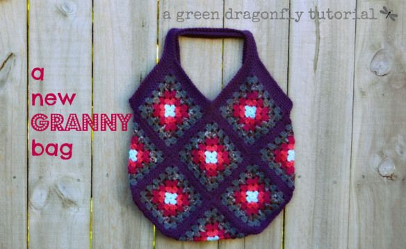 crochet granny bag ~ free pattern