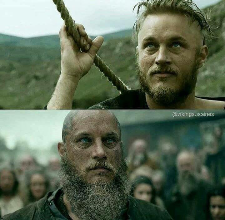 Ragnar|Vikings| but eyes are still the same