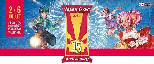 Agenda Geek 2014 - du 2 au 6 juillet : Japan Expo – Paris @IndependenceGeek