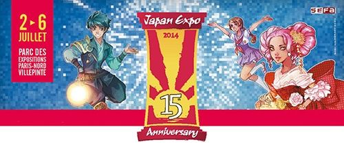 Agenda Geek 2014 - du 2 au 6 juillet : Japan Expo – Paris @IndependenceGeek
