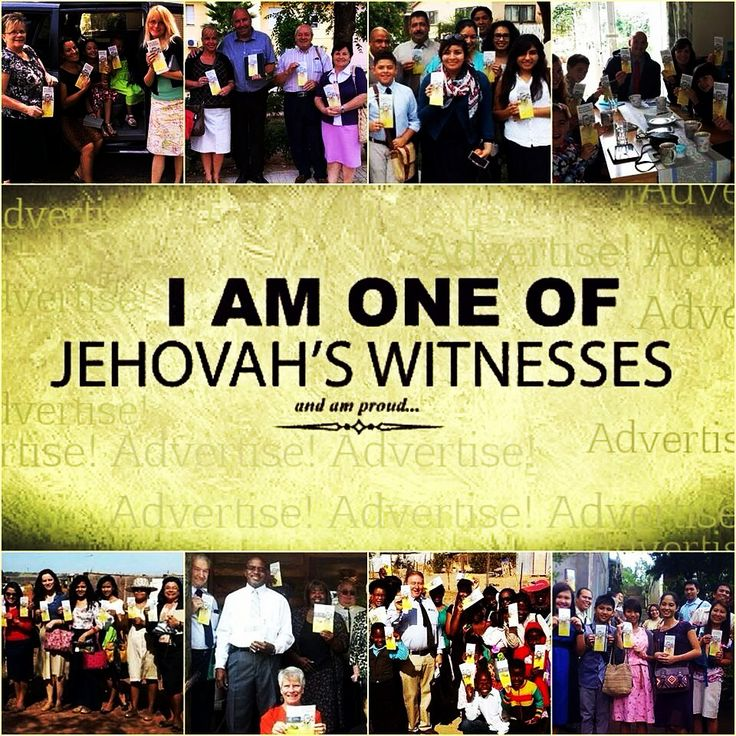 I'm truly PROUD to be a Jehovah Witness!! :] Serving Jehovah brings so much joy and happiness! :) it could be hard at times , but we are never alone! Jehovah is always by our side!! ❤️❤️