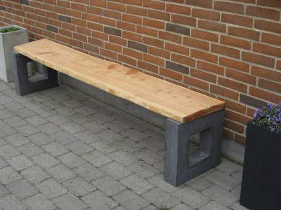 Haveprojektet i Vrold: Betonbænk version 2012