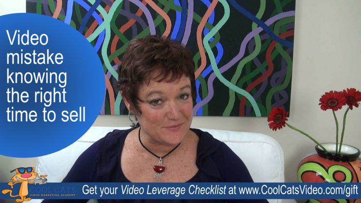 """The Video Mistake of Selling At The Wrong Time [Cool Cats TV]Hey there Pussy Cat, A short 3 minute video tip for you to help make your marketing videos as addictive as cat videos. This week's topic: """"The Video Mistake of Selling At The Wrong Time"""".  We'd love to hear your thoughts and questions so please leave a comment below the video or drop us […]"""