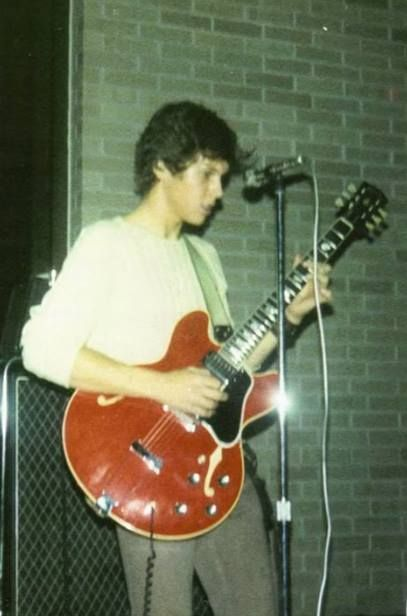 A very young Steve Gaines, doing what he loved.