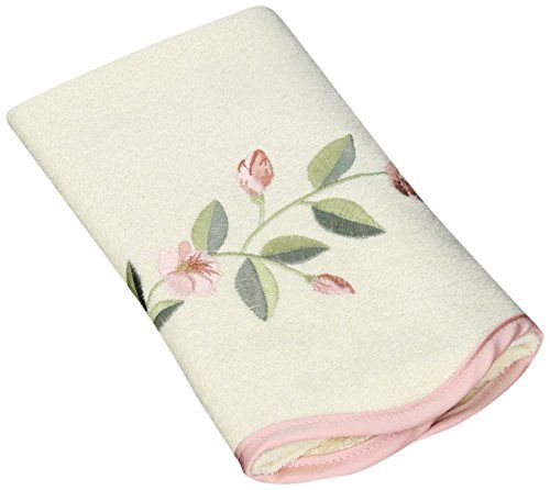 "Avanti Linens Melrose Hand Towel, Ivory. Avanti Linens. 11""x18"". 100% Cotton. Each towel is come with washing instructions. These nicely decorated towels are made in America by Avanti Linens. Item Dimensions: weight: 33, width: 3000, height: 50. For decorative bathrooms and guest bathrooms."