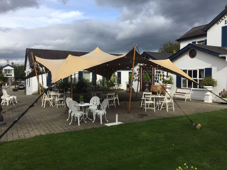 10m x 7.5m Biege Stretch Canopy for Wedding Reception at Stationhouse Kilmessan Ireland & 103 best Maverick Marquees images on Pinterest