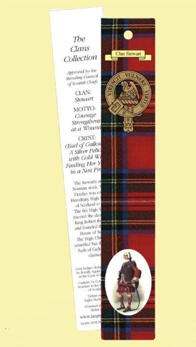 For Everything Genealogy - Stewart Clan Tartan Stewart History Bookmarks Set of 2, $3.00 (http://www.foreverythinggenealogy.com.au/stewart-clan-tartan-stewart-history-bookmarks-set-of-2/)